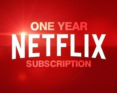 NETFLIX ULTRA HD 1 YEAR + Warranty⚡ PREMIUM 4 SCREENS FAST DELIVERY (LIMITED)