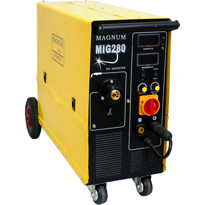 Magnum MIG 280 4x4  MIG / MAG 280A semiautomatic welding machine with 4-roll 4x4