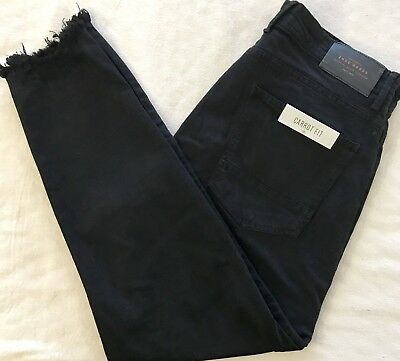 35cb2508 ZARA MAN RIPPED, Carrot Fit Mens Jeans, Size34.Black, NWT - $33.00 ...