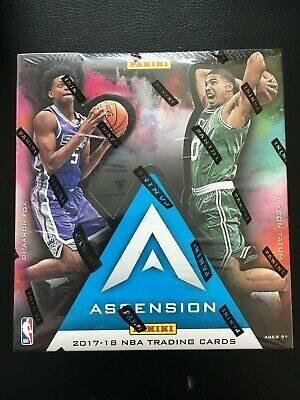 4d3275c569a Panini Ascension Basketball 2017-18 Factory Sealed Hobby Box 1 Autograph  Auto