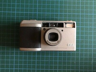 Ricoh GR1 35mm Film Camera - Working But With Minor Issues