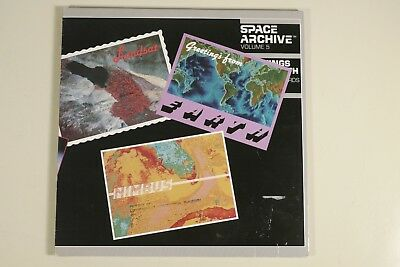 """Laserdisc  """"Greetings from Earth"""" visual data base Space Archive NASA"""