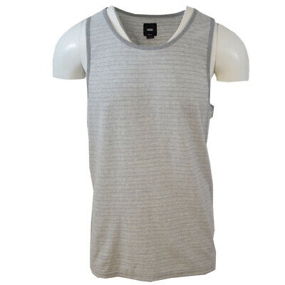 Vans Off The Wall Men's Grey Sleeveless Tank Top S01 (Retail $24.00)