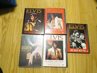 5 Elvis Presley 68 Comeback Special ALOHA HAWAII ALTERNATE ONE NIGHT TV DVD