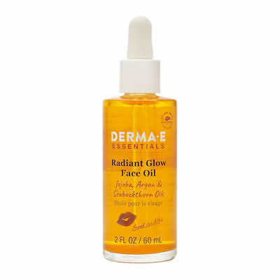 Derma-E Essentials - Radiant Glow Face Oil - 2 Fl. Oz. / 60 mL New Free Shipping