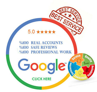 100 Reviews 5 Star Reviews For Google & Bbb  (Permanent Reviews)
