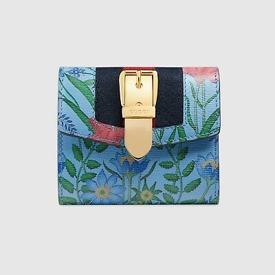 d120682474bcf3 GUCCI SYLVIE NEW Flora Wallet || Genuine, Certified and Brand New Wallet. -  EUR 221,00 | PicClick IT