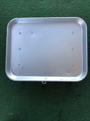 """Vintage Traco Aluminum Drive In Car Hop Tray  Approx 11"""" X  14"""