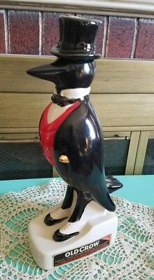Vintage Old Crow Decanter Kentucky Bourbon Whisky