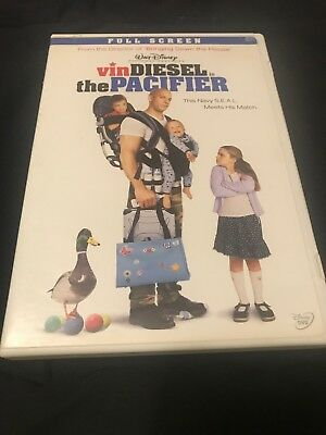 The Pacifier (2005, Full Screen Edition DVD) Very Good Condition- Vin Diesel