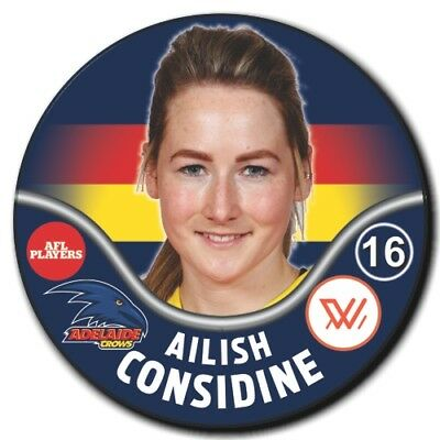 2019 AFLW Adelaide Player Badge - CONSIDINE, Ailish