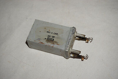 WESTERN ELECTRIC CAPACITOR 483A 483 A For Tube Amp .40 uF