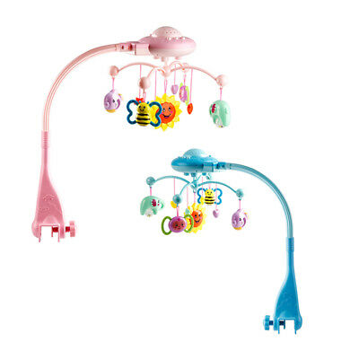 Baby Rattle Infant Toys For 0-12 Months Crib Mobile Bed Bell With Music An L6O3)