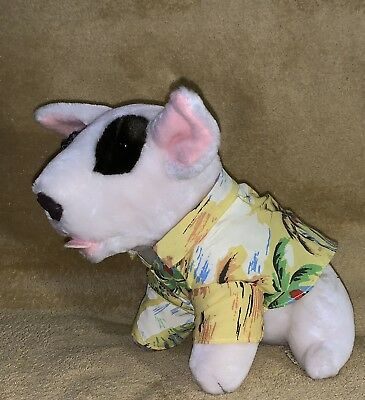 Bud Lite Spuds Mackenzie 1987 Plush Dog by Applause AO With Ear Tag Great Cond!