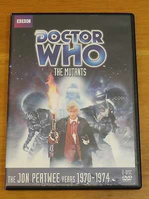 Doctor Who THE MUTANTS Story No. 63 DVD 2011 Jon Pertwee R1