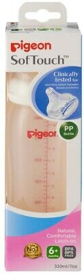 Pigeon SofTouch Peristaltic Plus PP Bottle 330ml