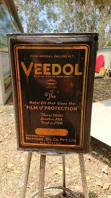 Veedol Motor Oil Tin