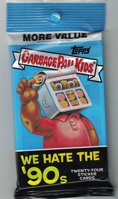 Garbage Pail Kids We Hate the 90s Guaranteed Printing Plate Hot Pack 1/1