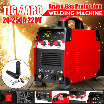 220V 2IN1 TIG/Arc Electric Welding Machine 7700W IGBT Inverter With Connector