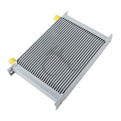 Aluminum Silver Universal 28 Row An-10An Engine Transmission Racing Oil Cooler