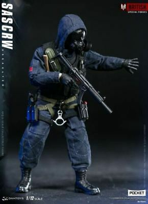 DAMTOYS 1/12 British Special Force SAS CRW Assaulter Soldier Figure Toy PES001