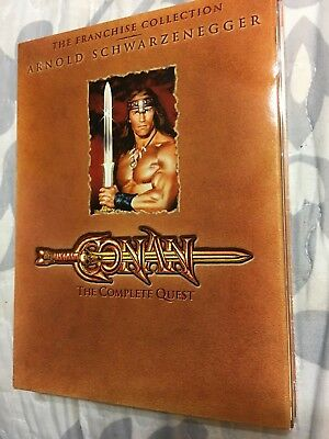 Conan: The Complete Quest (DVD, 2004, 2 Sided 1 - Disc Set)