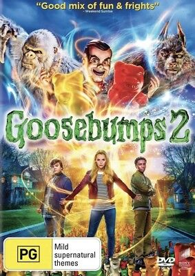 Goosebumps 2 Dvd (2018) New & Sealed- Free Postage! Region 4
