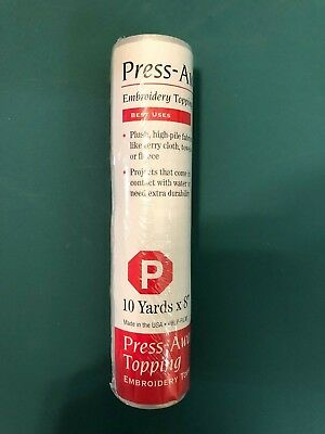 "baby lock Press-Away Topping 10yds x 8"" BLP-FILM"