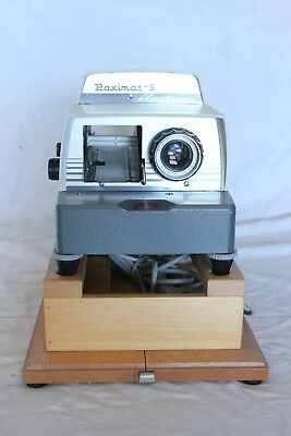 vintage Braun Paximat S slide projector in good condition