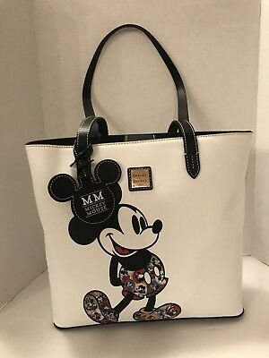 Disney Dooney & Bourke Mickey Mouse Through The Years Tote Shopper Bag 2019 NWT
