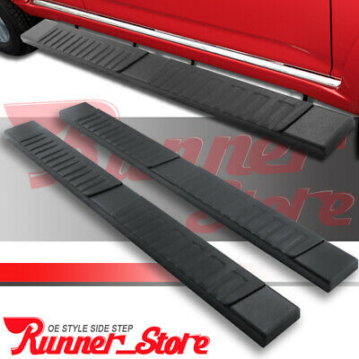 """Fit 04-14 Colorado//Canyon Crew Cab Chrome 3/"""" Side Step Nerf Bar Running Board"""