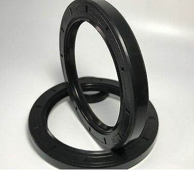 Select Size ID 25 - 27mm TC Double Lip Rubber Rotary Shaft Oil Seal with Spring