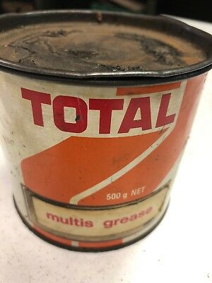 Total Multis Grease Small Collectible Man Cave Tin
