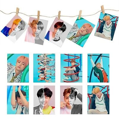 KPOP BTS Bangtan Boys Love Yourself 结Answer Album Self Made Lomo Cards Fans Gift