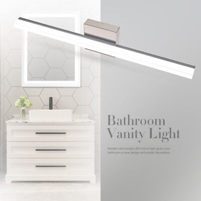 LED Modern Bathroom Toilet Vanity Wall Light Makeup Mirror Front Lamp Waterproof