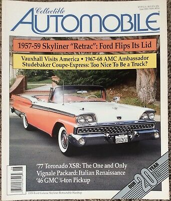 Lot Of 6 Collectible Automobile Magazines, Complete Volume 20 (#' s 1-6)