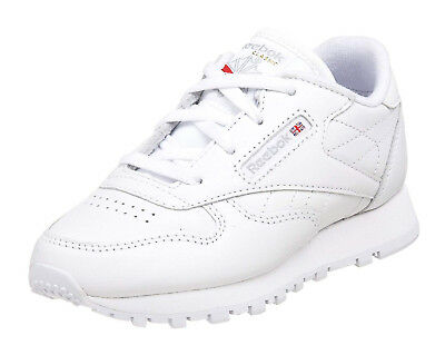 58d639bd891 Reebok Classic Leather White Toddler Kids Sneakers Tennis Shoes Item 92756