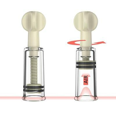 Nipple Enlarger No Pump Suction Vacuum Twist Rotary Cupping FI