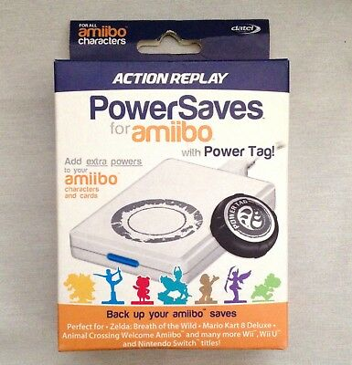AMIIBO CHARACTERS POWERSAVES Includes Power Tags by Datel Action Replay