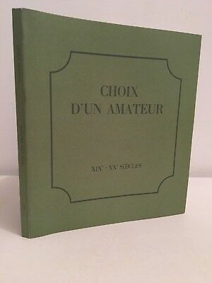 Choice of a amateur 19th-20th centuries Collection Schmit 1977