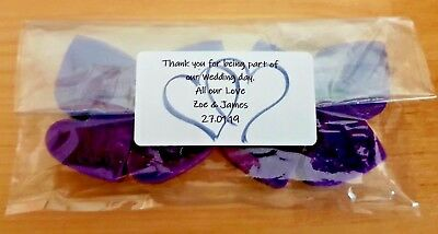 25x Personalised Wax Melts-Choose message,colour,fragrance- wedding /christening