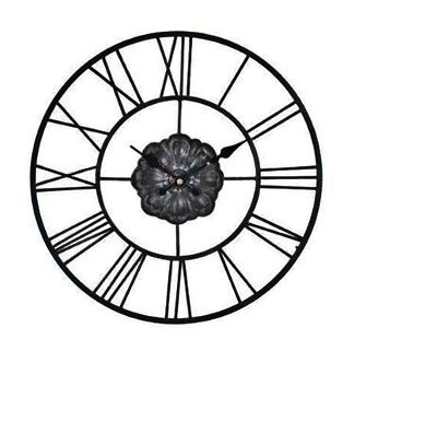 MND Vintage Stunning Round Roman Numeral Wall Clock Home Use Analogue Display.