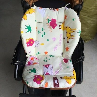 Baby Stroller Car High Chair Seat Cushion Liner Mat Pad Cover Cushion Pillow