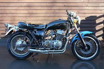 Honda CB750 CB 750 K4 1973 US BARN FIND winter Restoration Project Cafe Racer?