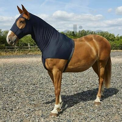 Elico Stretch Lycra Hood With Zip - Horse Hood Neck Cover