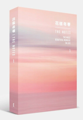 BTS-[The Notes 1 The Most Beautiful Moment In Life花樣年華] ENG 230p Book+Pre-Order
