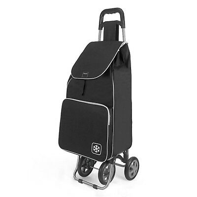 Metal and Fabric 100x65x20 cm gold Metaltex Aster Shopping Trolley