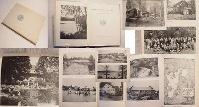 1913-1938 LITCHFIELD CT WHITE MEMORIAL FOUNDATION history recreation camps woods