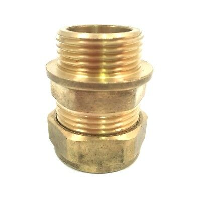 "CouplerBrass Fitting * 22mm Compression x 1//2/"" Inch BSP Male Iron Adaptor"