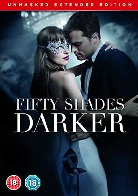 Fifty Shades Darker Unmasked Edition [DVD] [2017]- Region 2